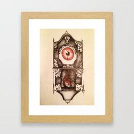 Eye of Time Framed Art Print