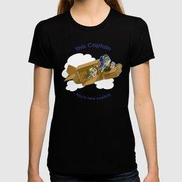 New Sibling, Pilot T-shirt