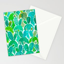 Cactus Practice Stationery Cards