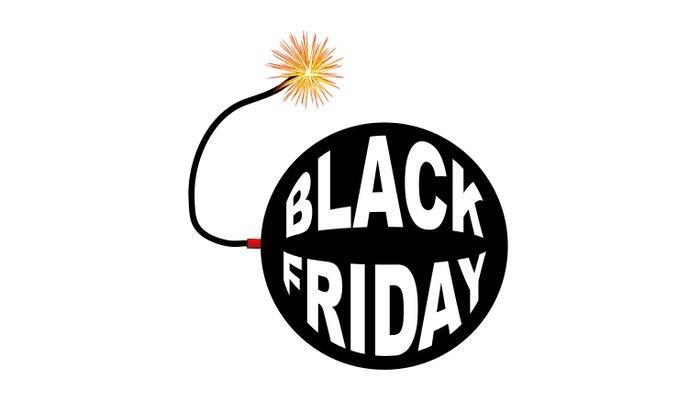 Black Friday Bomb And Lit Fuse Pillow Sham