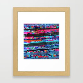Colorful and Playfully Framed Art Print