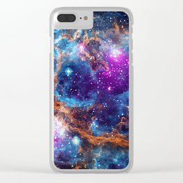 Lobster Nebula Clear iPhone Case