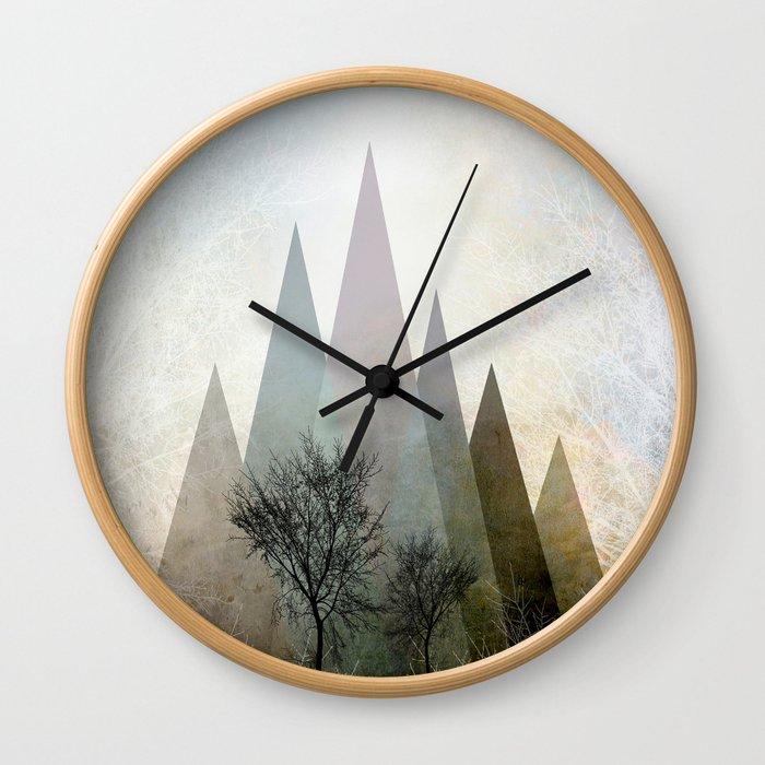 TREES IV Wall Clock