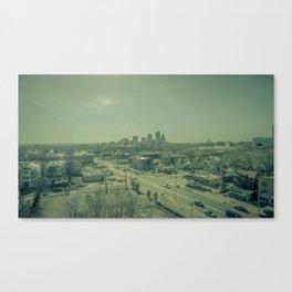 Gritty City Canvas Print