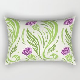 Thistles - Color PAttern Rectangular Pillow