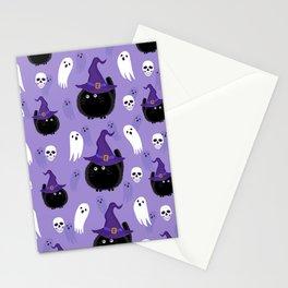 Amazing Halloween Design pattern Stationery Cards