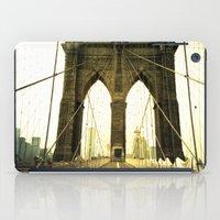 bridge iPad Cases featuring Bridge by Jacquie Fonseca