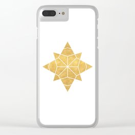 STAR SHAPE sacred geometry Clear iPhone Case