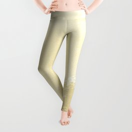 Kapalua Beach sparkling golden sand and seafoam Maui Hawaii Leggings