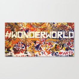 #Wonderworld Canvas Print