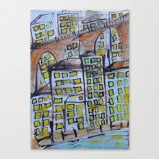 City scape. Canvas Print