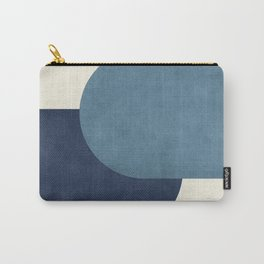Halfmoon Colorblock - Blue Carry-All Pouch