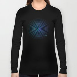 SoundWaves Teal/Indigo Long Sleeve T-shirt