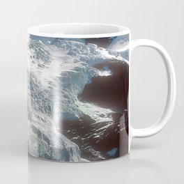 Jaw-dropping Canadian Glacier Cascading Down Mountainside Coffee Mug