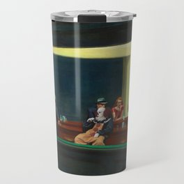Pennywise in Hopper's Nighthawks Travel Mug