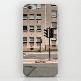 Empty street iPhone Skin