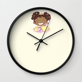 Lil´Princess Giddy-Up! Wall Clock