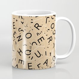 Scrabble Letters Coffee Mug