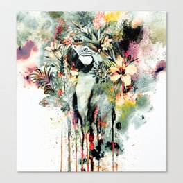 Interpretation of a dream - Parrot Canvas Print