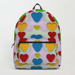 So sweet and hearty as love can be Backpack