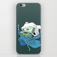 bmo iPhone & iPod Skins featuring BMO by RbMachado