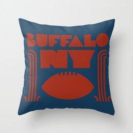 Buffalo NY Throw Pillow