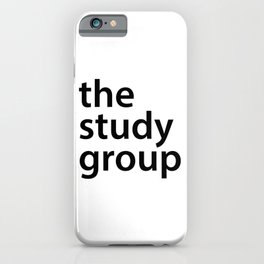 The study group iPhone Case