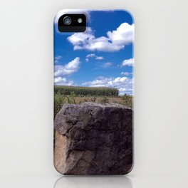 Landscape rock iPhone Case
