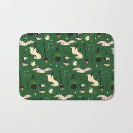 Slytherin Pattern Bath Mat