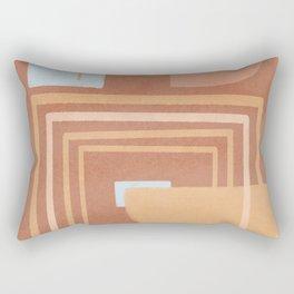 Earth paths Rectangular Pillow