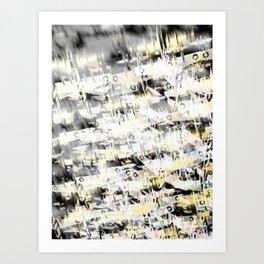 Flight Abstract Vertical Art Print