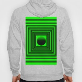 Abstract Green 101 Hoody