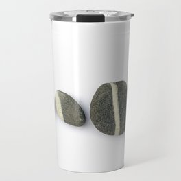 Four Pebbles Horizontal Sequence Travel Mug