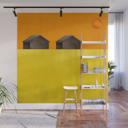 Simple housing - Love me two times Wall Mural