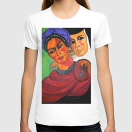 Frida y Sor Juana Ines De La Cruz T-shirt