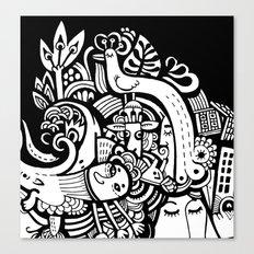 Puisto Canvas Print