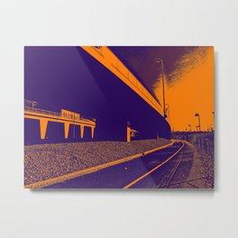Bridge 6 Metal Print