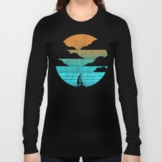 Go West (sail away in my boat) Long Sleeve T-shirt