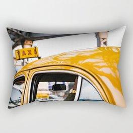 Calcutta Taxi Rectangular Pillow