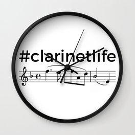#clarinetlife Wall Clock