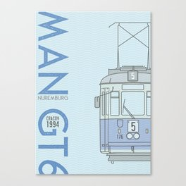 Trams of the World - Cracov Canvas Print