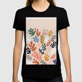 Matisse cutouts abstract drawing,matisse poster,matisse print, female abstract art, eclectic art T-shirt