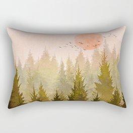 Hill Morning Rectangular Pillow