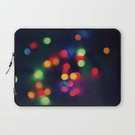 Lights of the Season Laptop Sleeve