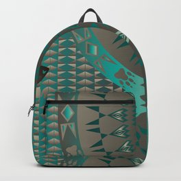 The Wolf (Aqua) Backpack