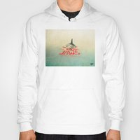 jaws Hoodies featuring Jaws 02 by erintquinn