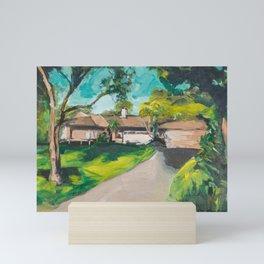 Golden Girls,Each View is an Postcard.... Mini Art Print