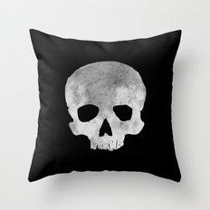 skull Moon Throw Pillow