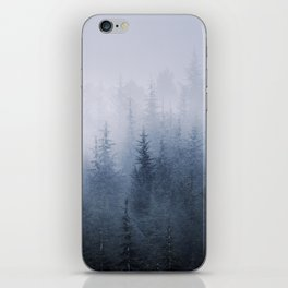 Misty fantasy forest. iPhone Skin