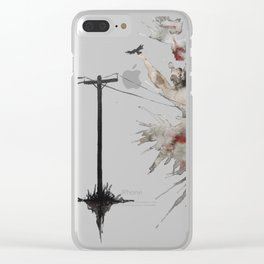 Same Time Tomorrow Clear iPhone Case